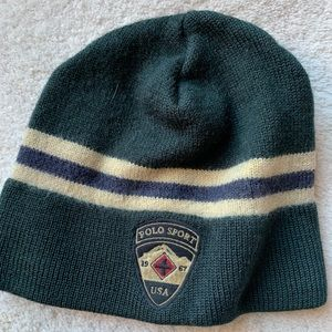 Polo wool hat